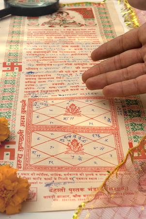 foretell: Indian horoscope