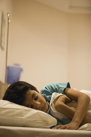 Young patient sleeping