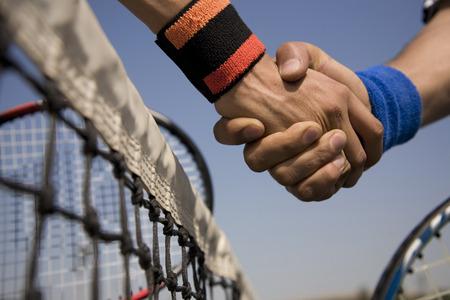 A handshake Stock Photo