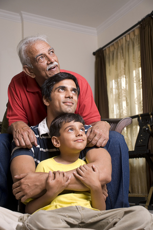 grandkids: Three generations of a family