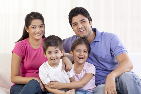 indian nuclear family stock photos royalty free indian nuclear