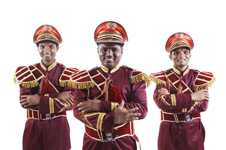 웃는 bandwalas의 초상화 스톡 콘텐츠