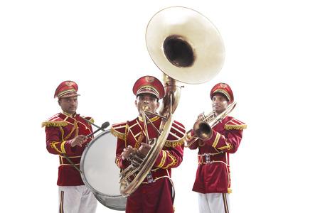 악기와 bandwalas의 초상화