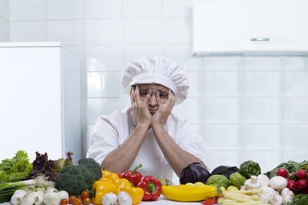 30 35 years: Chef getting frustrated