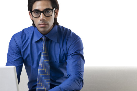 well dressed: Portrait of a businessman