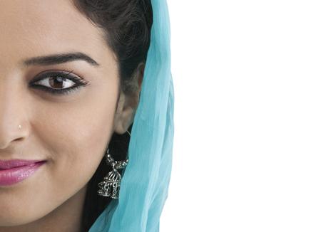 kameez: Portrait of a Muslim woman Stock Photo