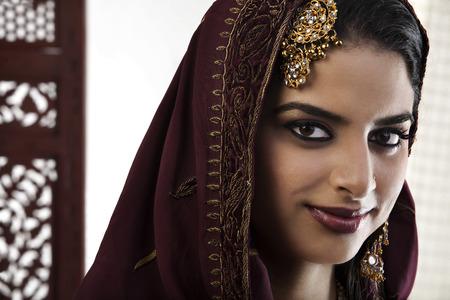 25 30: Portrait of a Muslim woman Stock Photo