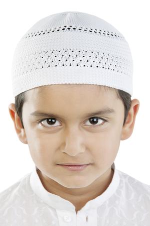 kurta: Portrait of a Muslim boy