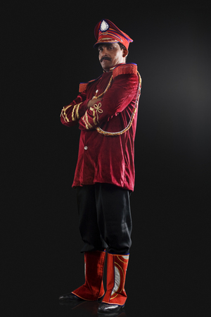30 35 years: Portrait of a bandmaster