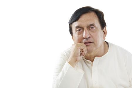 Portrait of a Gujarati man