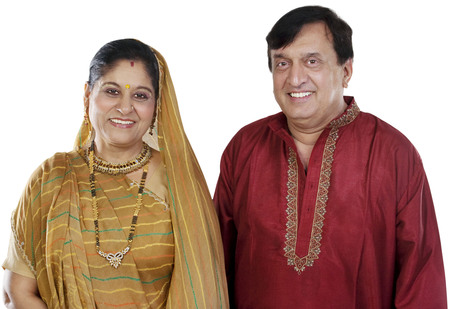 Portrait of a Gujarati couple