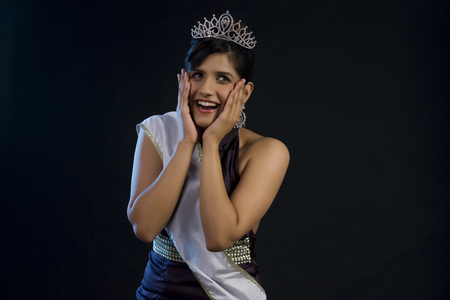 pageant: Beauty pageant winner overwhelmed