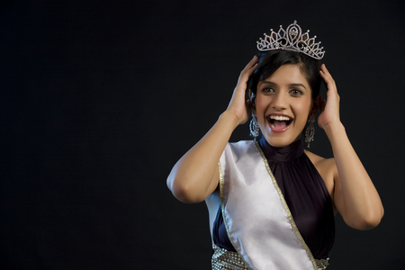 Beauty pageant winner feeling overjoyed