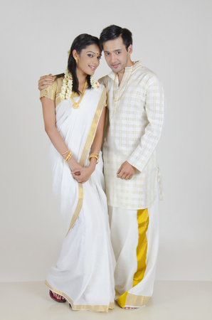 dhoti: Portrait of a South Indian couple