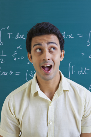 formula one: College student with mouth open