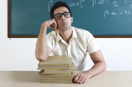 formula one: College student looking sad