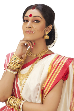 Portrait of Bengali woman