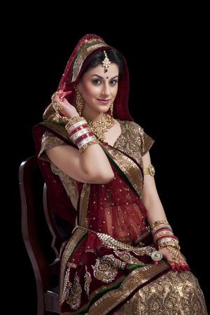 Portrait of a beautiful bride