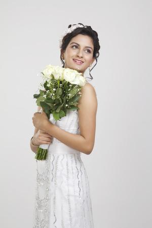 christian marriage: Portrait of a Bride