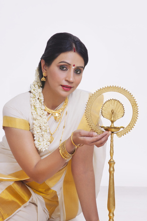 homemaker: Portrait of a South Indian woman