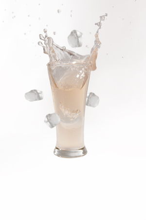 icecubes: Lychee juice