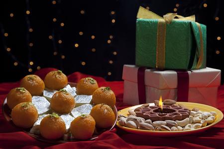 과자 및 선물 스톡 콘텐츠
