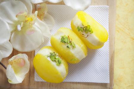 Close-up of bengali sweets Stock Photo