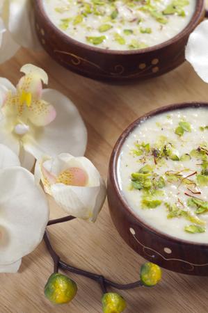 Rabri in a bowl