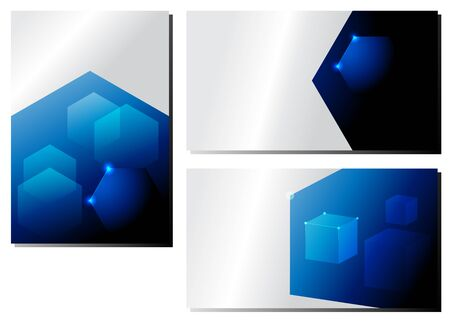 Abstract from the hexagon of technological innovation. futuristic - flyers, banners, backgrounds, web.
