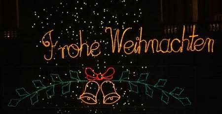weihnachten: Frohe Weihnachten