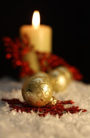 Christmas Candles photo