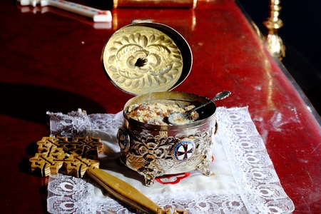 altar coptic chruch