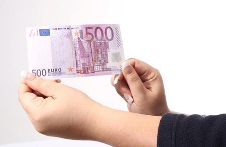 negotiable instrument: 500 euro