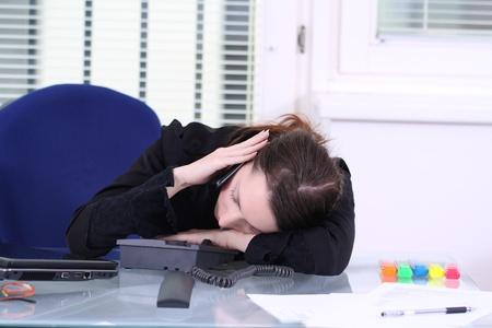 asleep chair: sleeping at Work