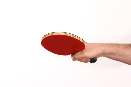 forehand: table tennis playing with the forehand