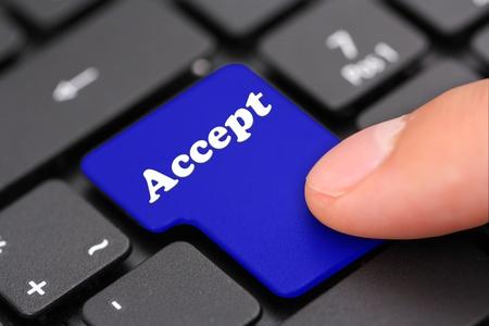 accept: accept
