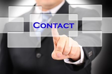 contact Stock Photo - 13716828