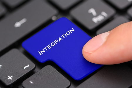 integrated: integration Stock Photo