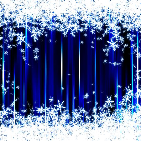 sparkle blue xmas background Stock Photo - 5798322