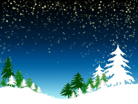 blue christmas background Stock Photo - 5798318