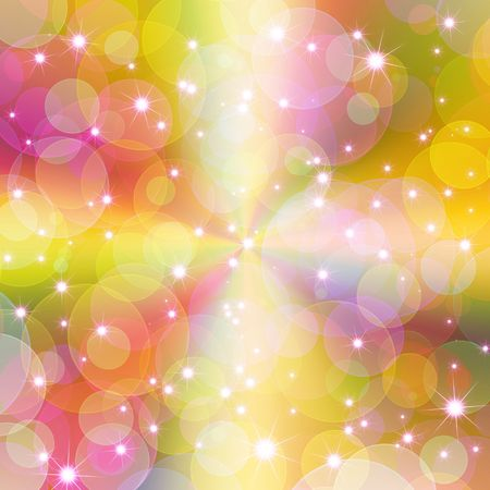 shimmer: abstract sparkle colorful background Stock Photo