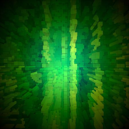 hyper: Green abstract background