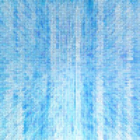 blue square abstract background Stock Photo - 5867809