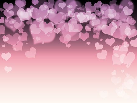 Romance hearts love background photo