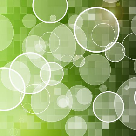 abstract green circle background Stock Photo - 6182987
