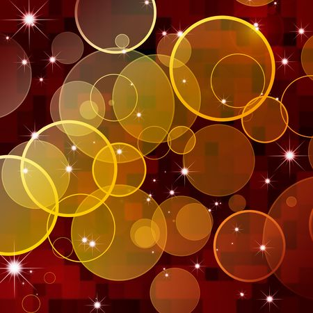 abstract circles background photo