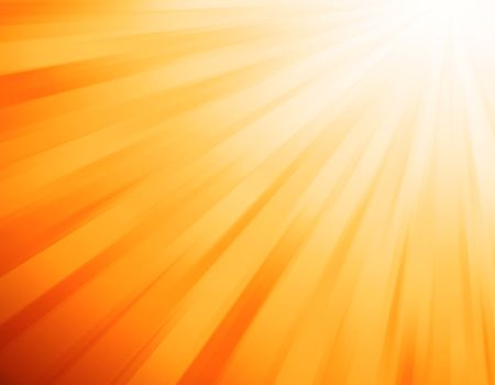 orange light burst Stock Photo - 6182954
