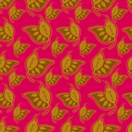 Summer colorful seamless pattern  Vector