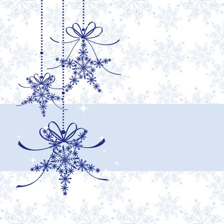 Sparkling Christmas snowflake seamless pattern Stock Vector - 8412166