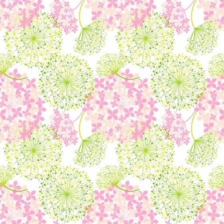 flowers background: Springtime Colorful Flower Seamless Pattern Background Illustration